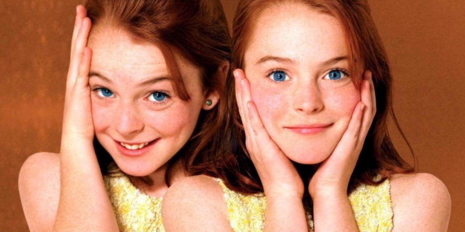 La actriz participó como la doble de cuerpo de Lindsay Lohan. Foto:IMDB