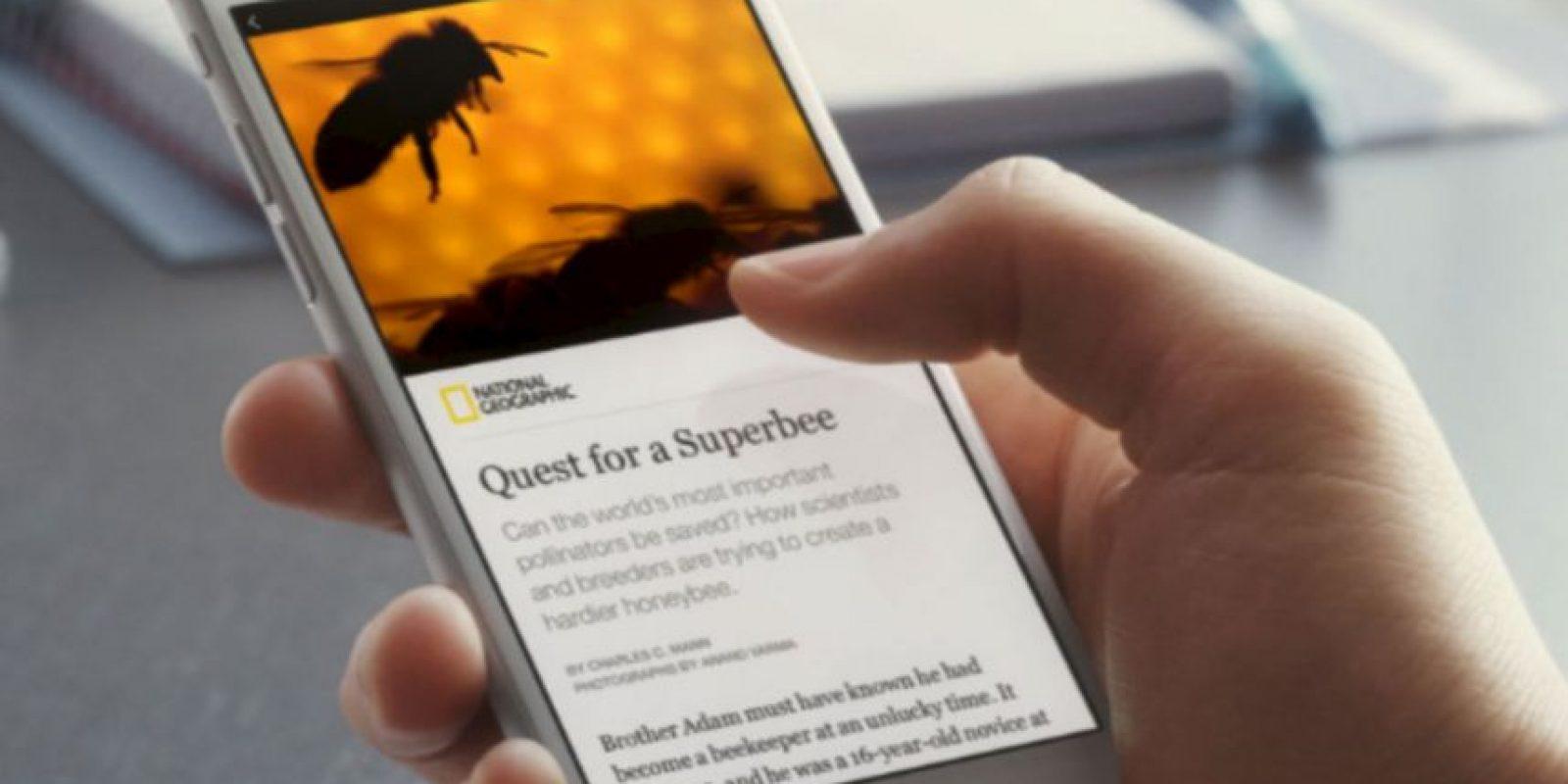 """""""Instant articles"""", la mejora para leer noticias y contenido en Facebook. Foto:Facebook"""