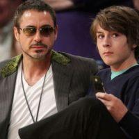 Robert Downey Jr. y su hijo Indio. Foto:vía Getty Images