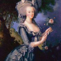 A la reina Maria Antonieta. Foto:vía Getty Images