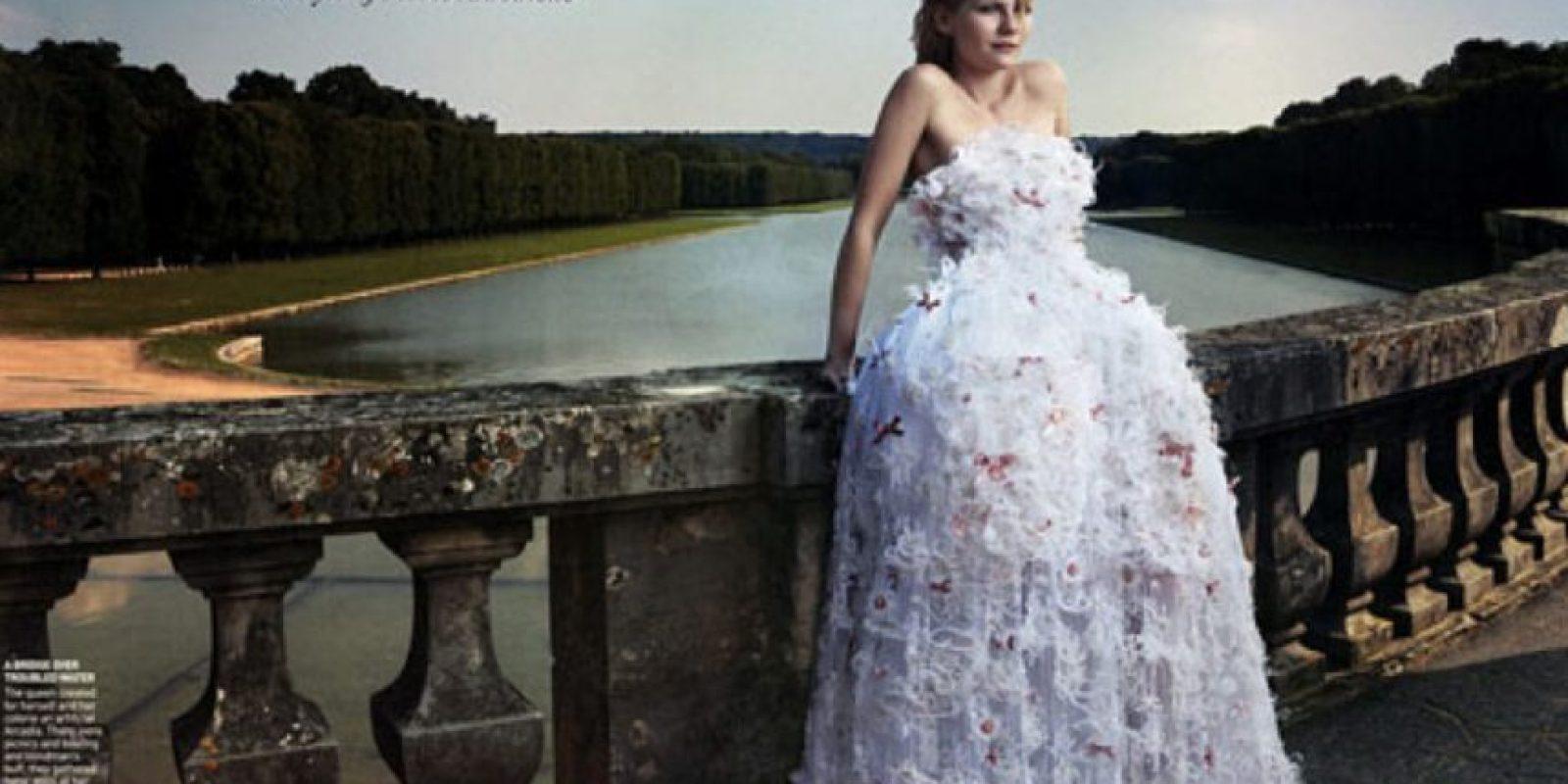 Menos encarnarla como hizo Kirsten Dunst. Foto:vía Vogue