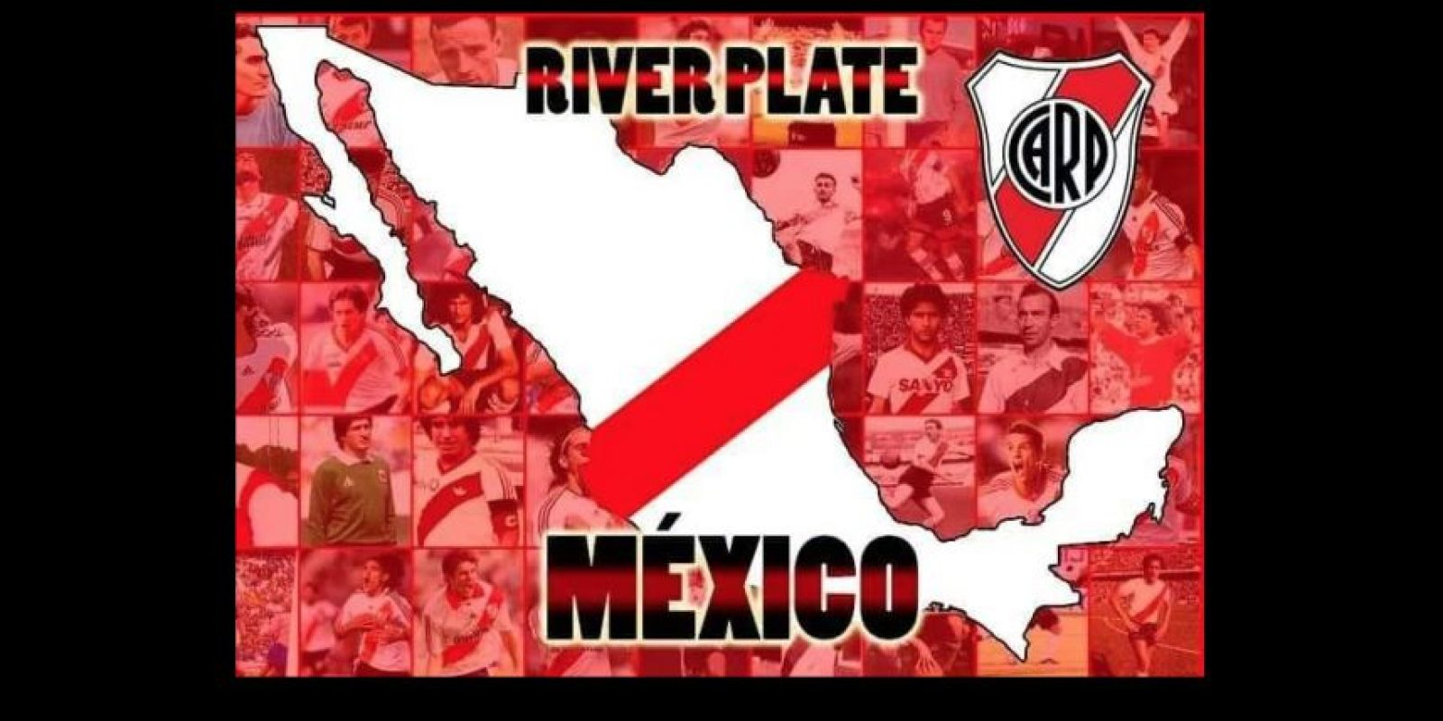 Porque muchos apoyaron a River Plate. Foto:Vía twitter.com