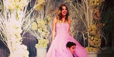 Kaley decidió casarse como si fuese a sus 15 años. Foto:vía Instagram/kaleycuoco