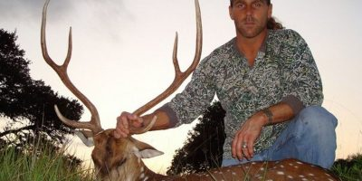 Shawn Michaels es un exluchador de la WWE. Acostumbra a cazar en los campos de Estados Unidos Foto:Tumbrl