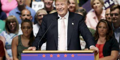 """1. """"Ellos lo aman y lo odian. Donald Trump triunfa hasta ahora. Pero, ¿los votantes realmente lo quieren? Tal vez no tanto"""", dijo Tim Malloy, director adjunto de la encuesta. Foto:AP"""