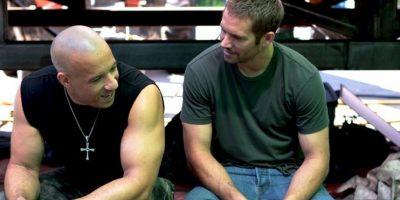 Después de filmar, Diesel visitó a Walker en su camerino para recordarle algo Foto:Vía Facebook.com/VinDiesel