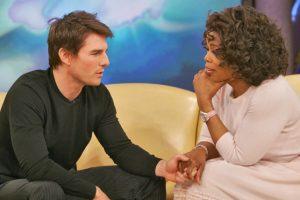 Se volvió loco con Oprah. Foto:vía Oprah.com