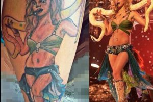Britney Spears Foto:vía twitter.com/HeyJonnyD
