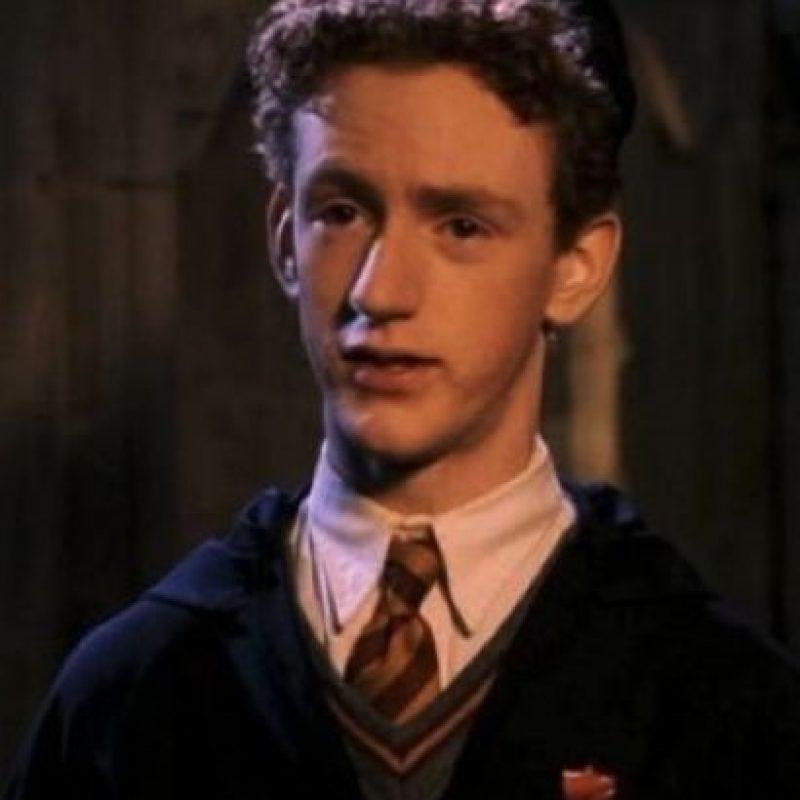 """Interpretó al hermano mayor de """"Ron Weasley"""", """"Percy Weasley"""" Foto:vía instagram.com/cwrankin"""