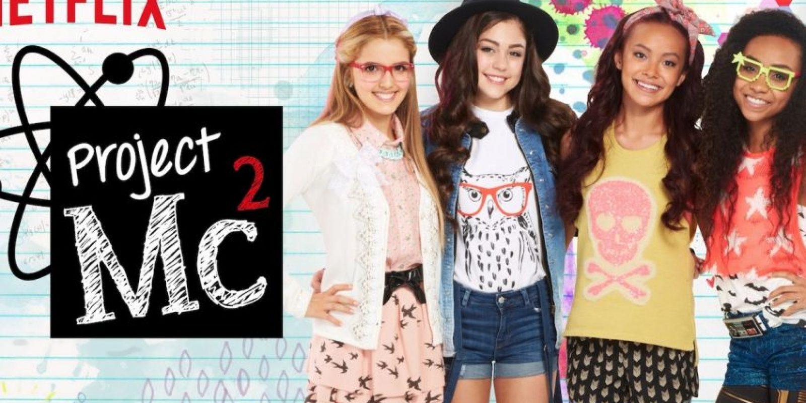 """""""Project Mc2"""". Disponible a partir del 7 de agosto. Foto:Netflix"""