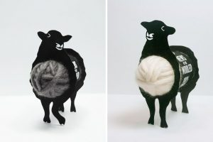 Para guardar la lana qué mejor que una oveja.