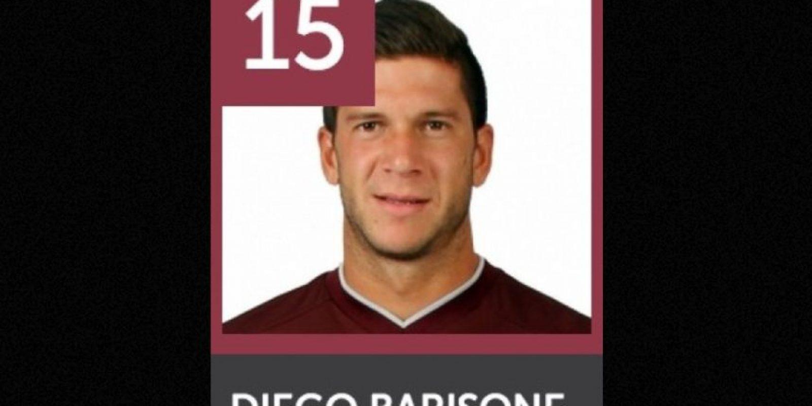 Diego Barisone perdió la vida en un accidente de tránsito. Foto:clublanus.com