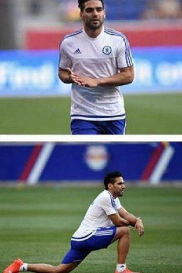 Falcao podría jugar con Chelsea contra Arsenal. Foto:twitter.com/FALCAO