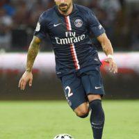 Lavezzi vería acción con el PSG contra Olympique de Lyon. Foto:Getty Images