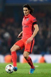 Cavani jugaría con el París Saint-Germain ante Olympique de Lyon. Foto:Getty Images