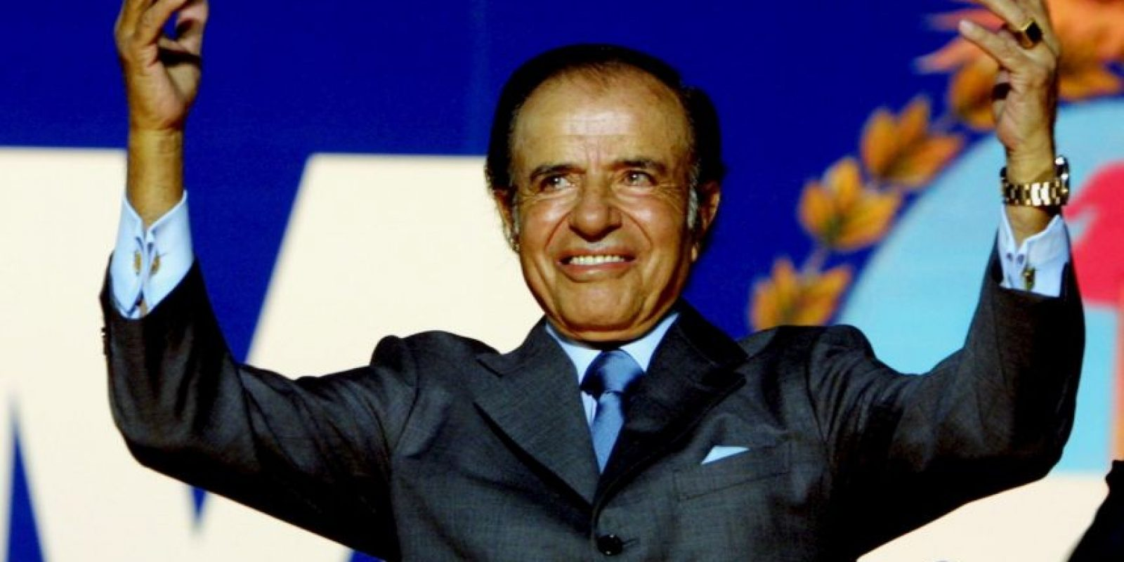 Fue presidente de Argentina de 1989 a 1999 Foto: Getty Images