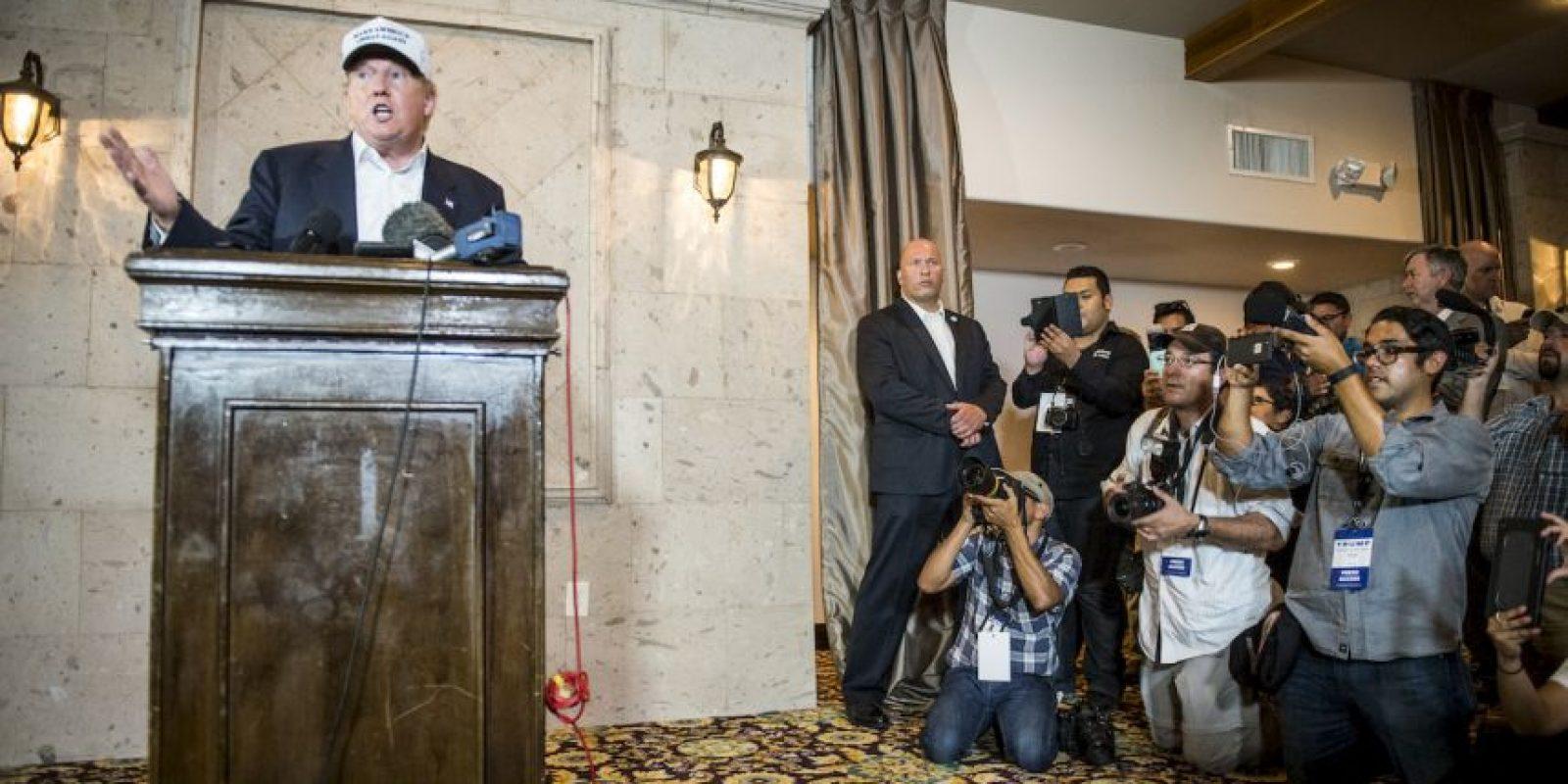 Le siguen el gobernador de Nueva Jersey, Christopher Christie, con un 15 por ciento y Jeb Bush con un 14 por ciento. Foto:Getty Images
