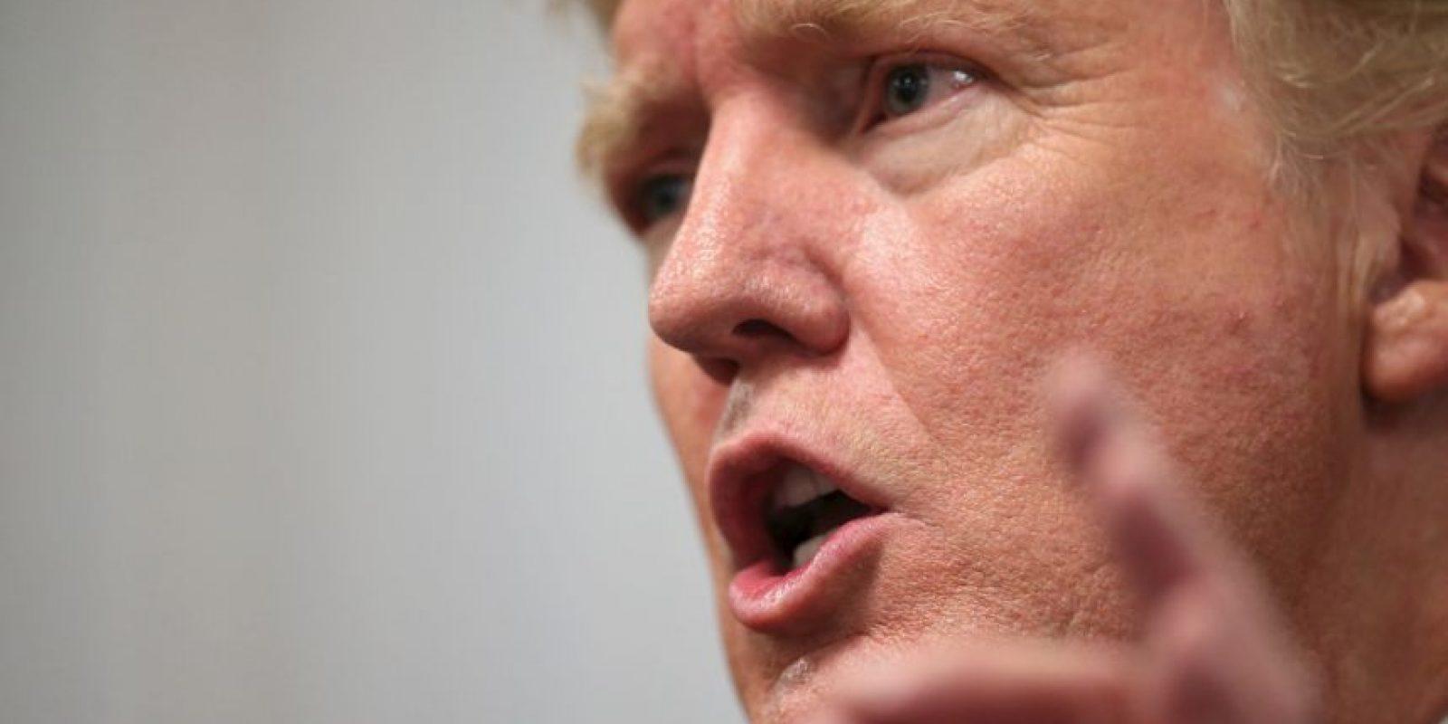 """""""Ellos lo aman y lo odian. Donald Trump triunfa hasta ahora. Pero, ¿los votantes realmente lo quieren? Tal vez no tanto"""", dijo Tim Malloy, director adjunto de la encuesta. Foto:Getty Images"""