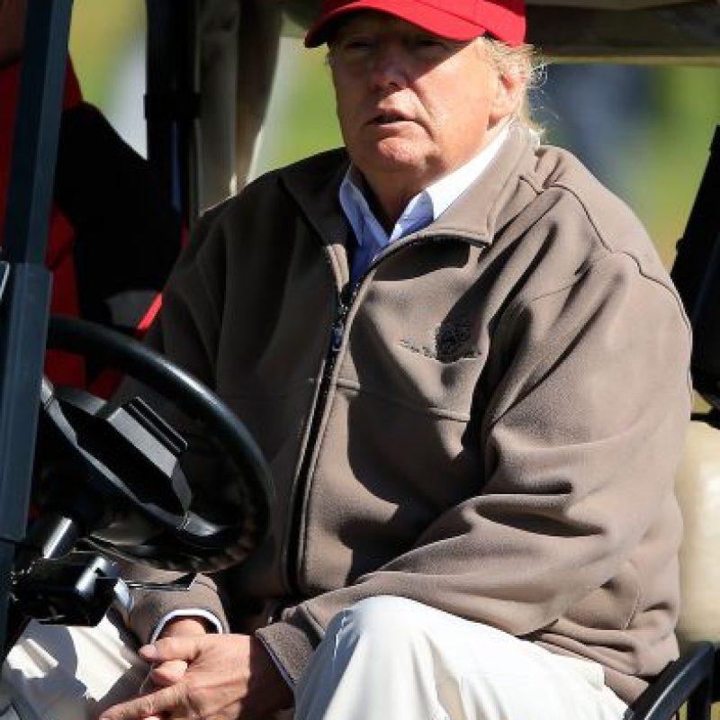 """Pero no todo es perfecto para el controversial magnate, ya que en el renglón de """"de ninguna manera"""" (republicanos que definitivamente no lo apoyarían) Trump recibió un 30 por ciento. Foto:Getty Images"""