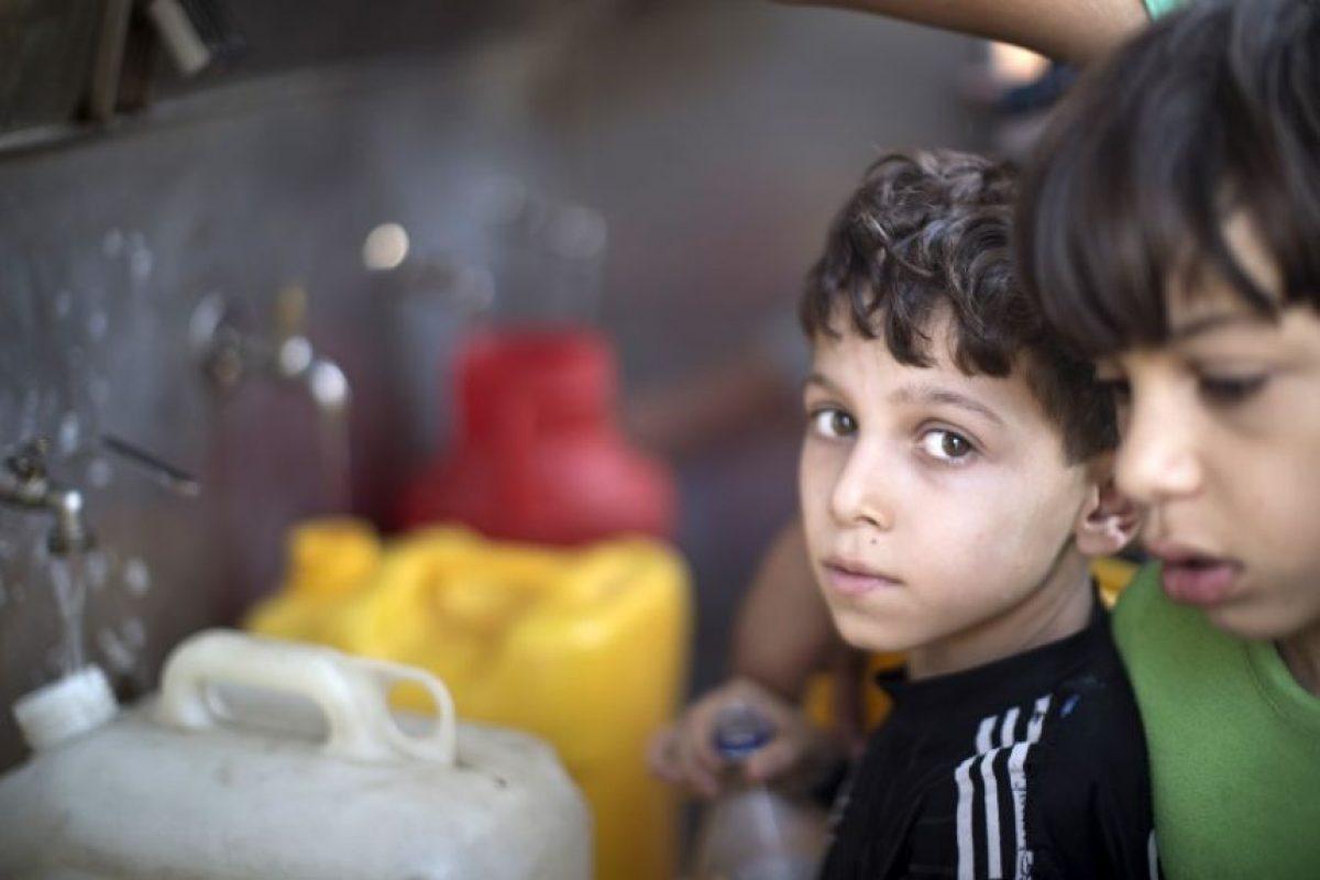 Y más de mil 500 quedaron huérfanos. Foto:AFP