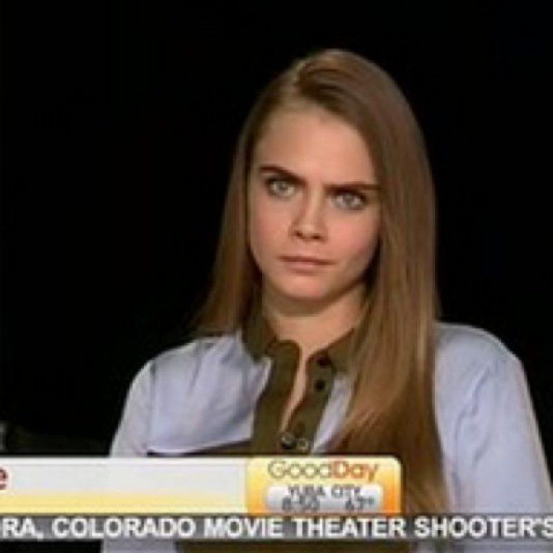 De hecho, ella se defendió por la mala entrevista que tuvo. Foto:vía Youtube