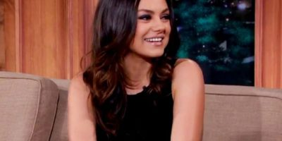 """2. A Mila Kunis no le gusta que la subestimen y """"Star-Ledger"""" le preguntó por cosas personales. Ella evadió todo con elegancia. Foto:vía Youtube"""