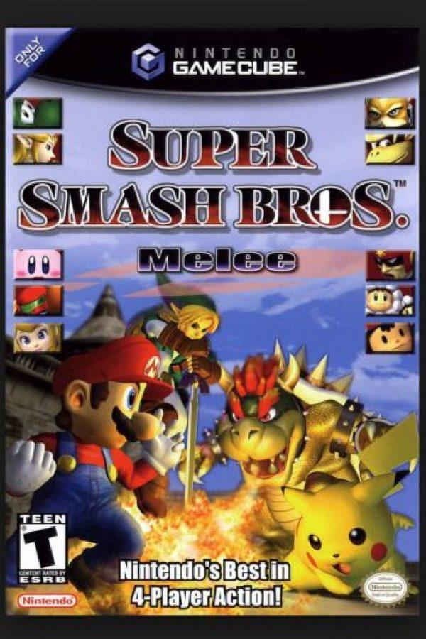 """Super Smash Bros. Melee"" para Game Cube Foto:Nintendo"
