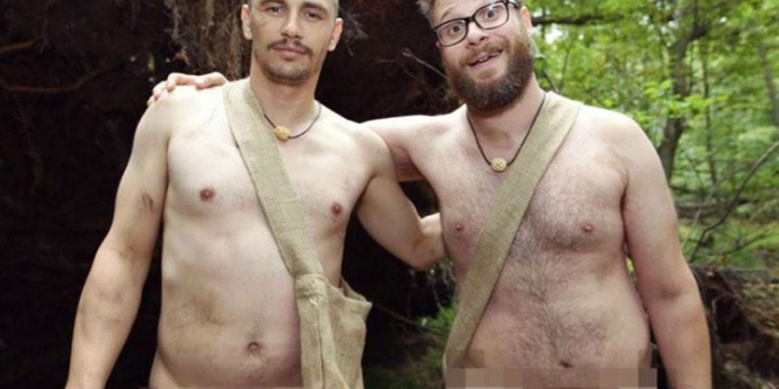 Seth Rogen sabe lucir todo al natural. Foto:vía Twitter