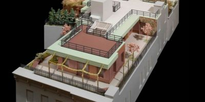 Maqueta virtual de la casa Foto:Vía zoomnews.es