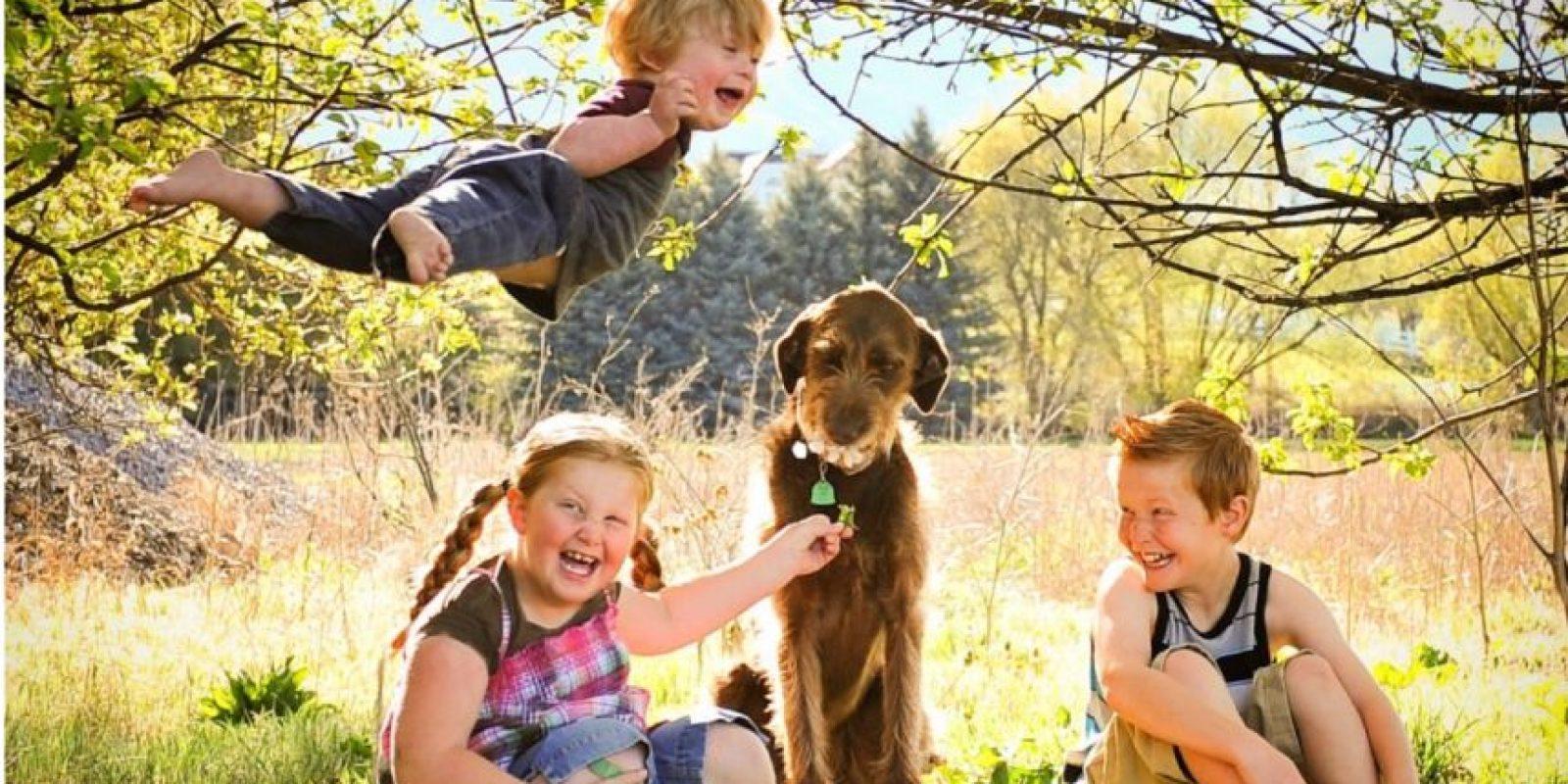 La familia de Will ha compartido estas imágenes para que la gente sepa la felicidad que puede brindar un niño que tienen Síndrome de Down. Foto:Vía thatdadblog.com