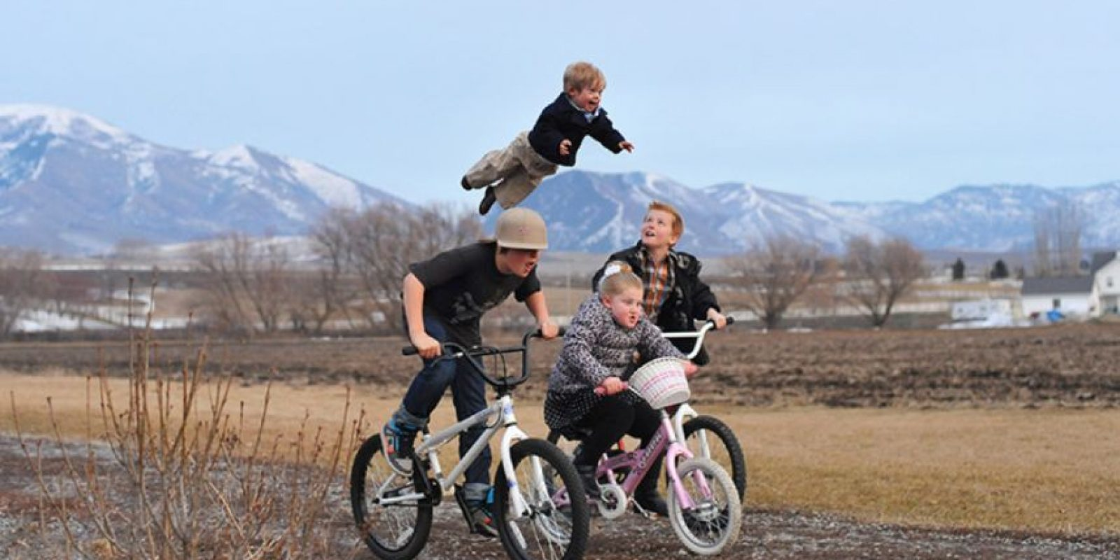 Wil Lawrence es hermano de otros cuatro pequeños. Foto:Vía thatdadblog.com