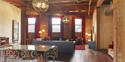 Salón con vigas de madera Foto:Vía Street Easy