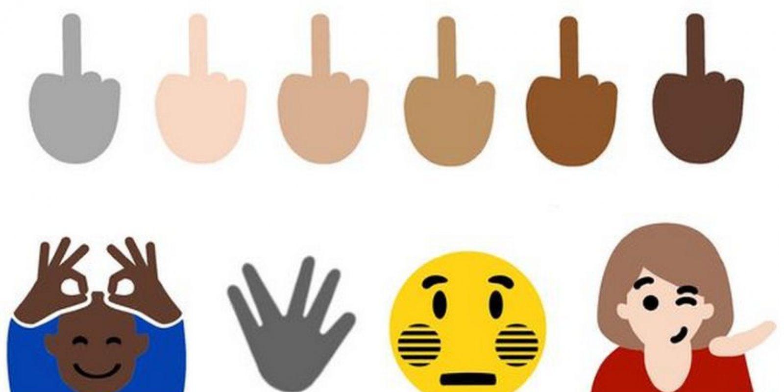 """Windows 10 y WhatsApp (con un truco) ya cuentan con el emoji de la también llamada """"peineta"""" Foto:Emojipedia"""