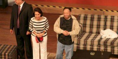 Actuando en Colombia Foto:Roberto Gómez Bolaños/Facebook