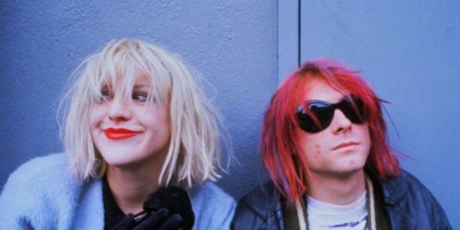 Kurt Cobain se casó con Courtney Love en 1992 Foto:IMDb
