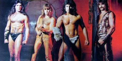 "7. Esta banda estadounidese llamada ""Manowar"" toca heavy y power metal. Foto: Know Your Meme"