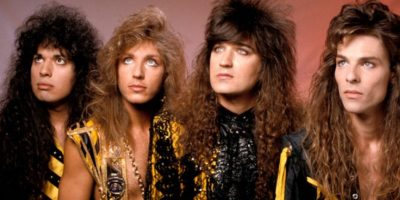 "16. ""Stryper"" es una banda de heavy metal cristiana. Son estadounidenses. Foto: Know Your Meme"