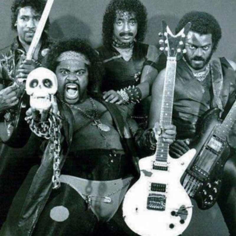 "8. ""Black Death"". Es otra banda dee heavy metal estadounidense y estan activos desde 1977. Foto: Know Your Meme"