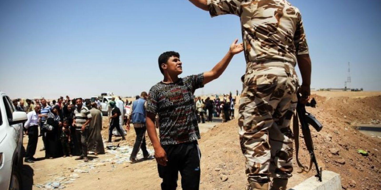 Un reality show australiano que estrenó el miércoles pasado su tercera temporada expuso a sus participantes a enfrentamientos en Siria. Foto:Getty Images