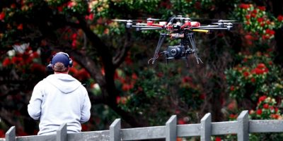 William Merideth, atacó al drone supuso que atentaba contra su familia. Foto: Getty Images