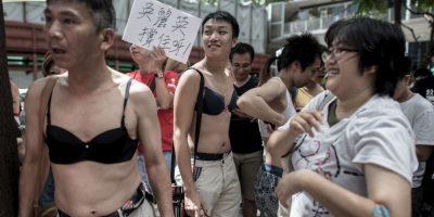Ng Lai-ying, fue sentenciada a tres meses y medio de prisión. Foto:AFP