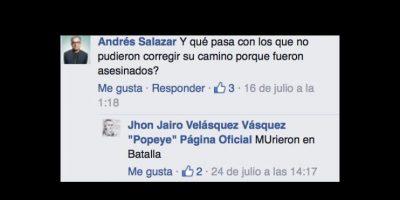 Poco importa que haya matado a 300 personas y haya ordenado unos 3 mil asesinatos. Foto:vía Facebook/Pope El Guerrero