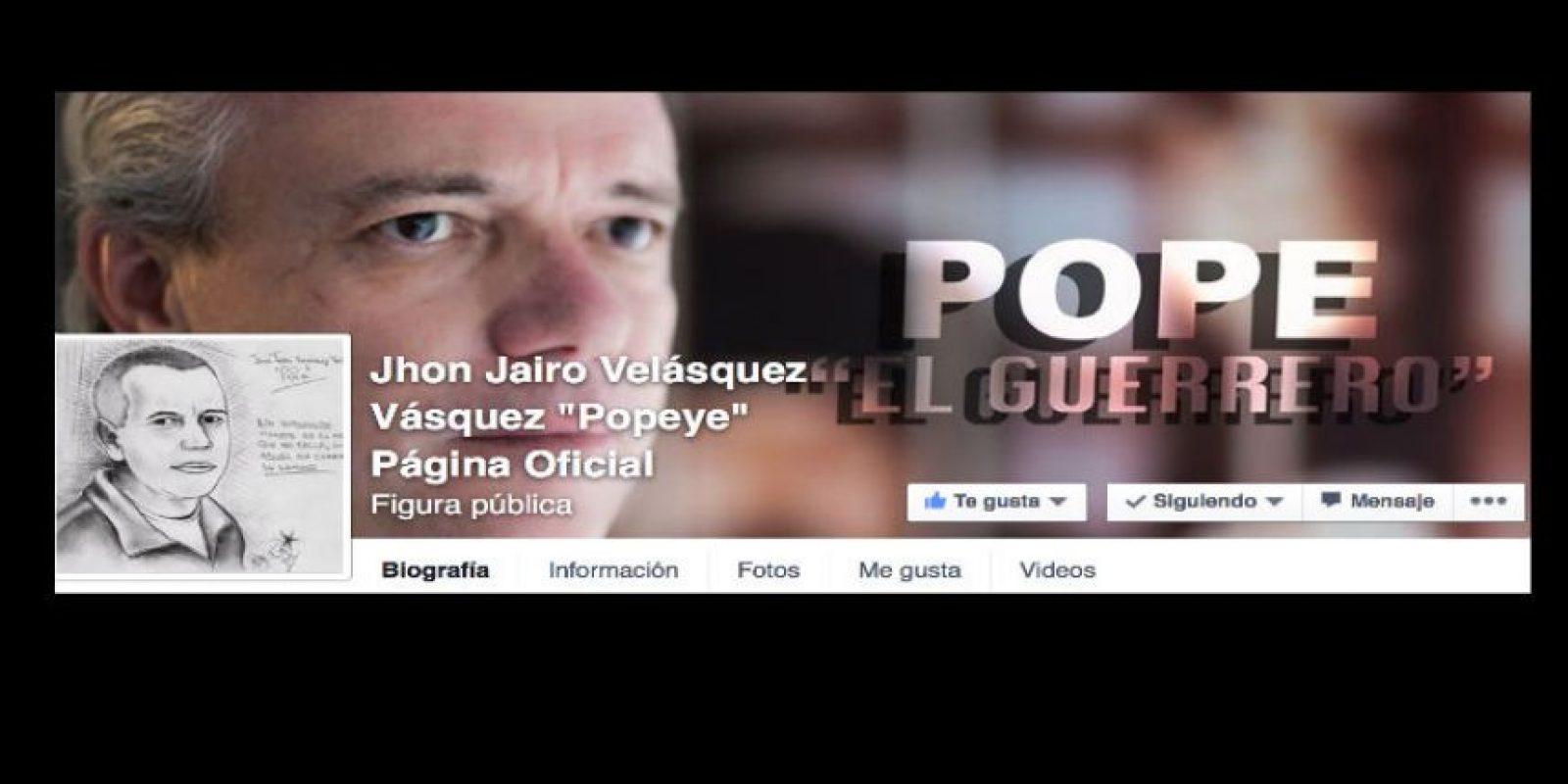 """John Jairo Velásquez, alias """"Popeye"""", es el único sobreviviente de Pablo Escobar. Foto:vía Facebook/Pope El Guerrero"""