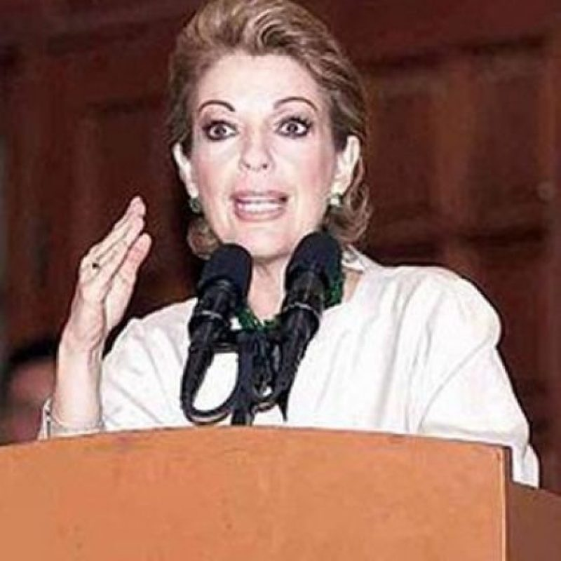 Política mexicana, es la esposa de Vicente Fox, expresidente de México Foto:Pinterest