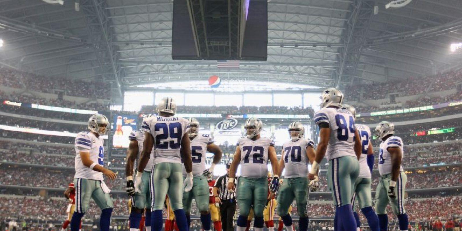 Los Vaqueros son la franquicia más popular de la NFL. En 55 años de historia, han ganado 5 Súper Bowl. Foto:Getty Images