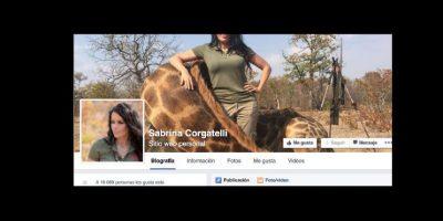Tiene más de 16 mil seguidores en Facebook. Foto:vía Facebook/ Sabrina Corgatelli