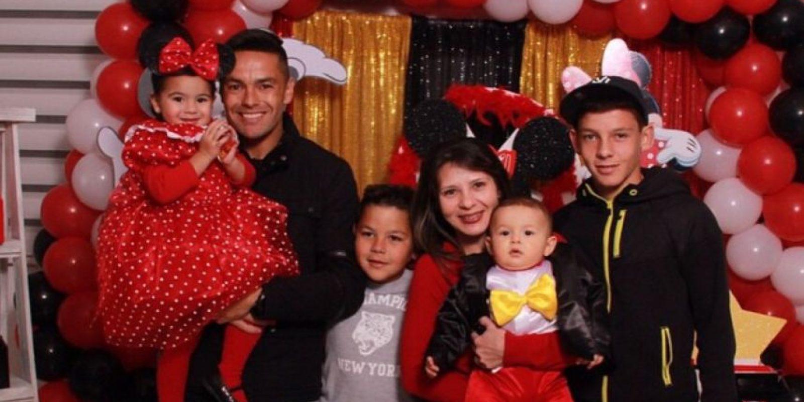 Es la esposa de Juninho, brasileño de Tigres Foto:Vía instagram.com/juninho_3oficial