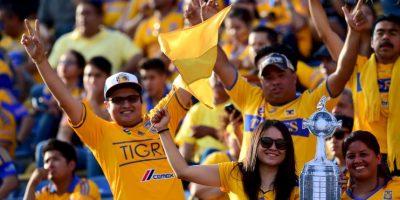 """Y como dice el popular dicho """"la tercera es la vencida"""" y viendo la calidad de Tigres, puede que esta máxima popular se haga realidad. Foto:AFP"""