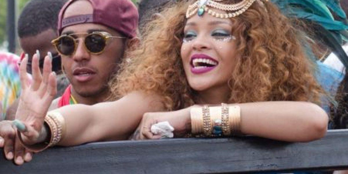 ¿Este famoso piloto de la Fórmula 1 es el nuevo galán de Rihanna?
