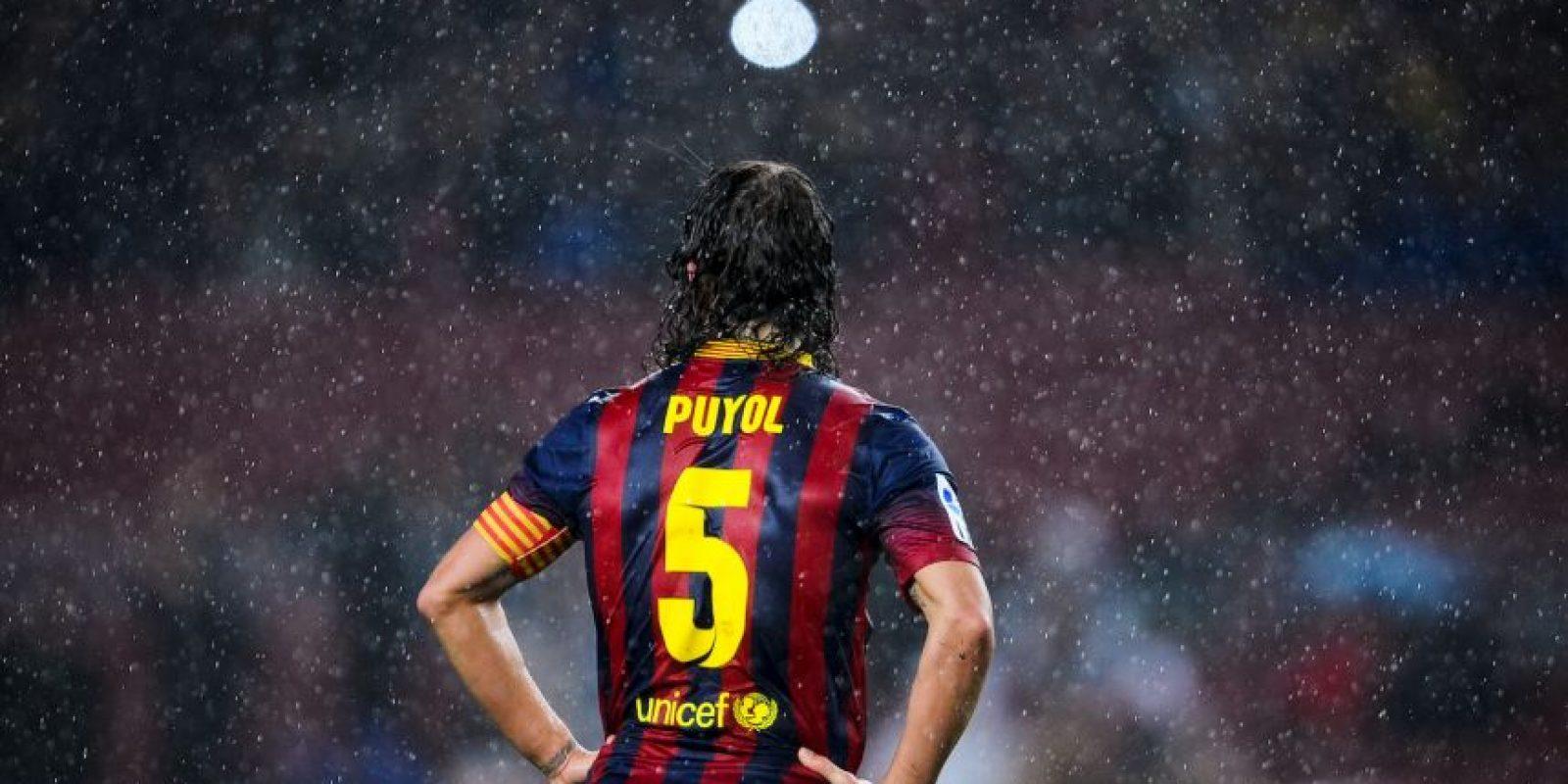 En cuando el capitán Carles Puyol se retiró, Busquets decidió llevar su número. Foto:Getty Images